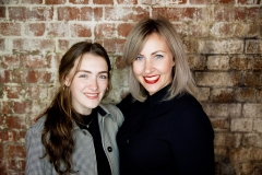 Lilly Cox and Jo Robertson