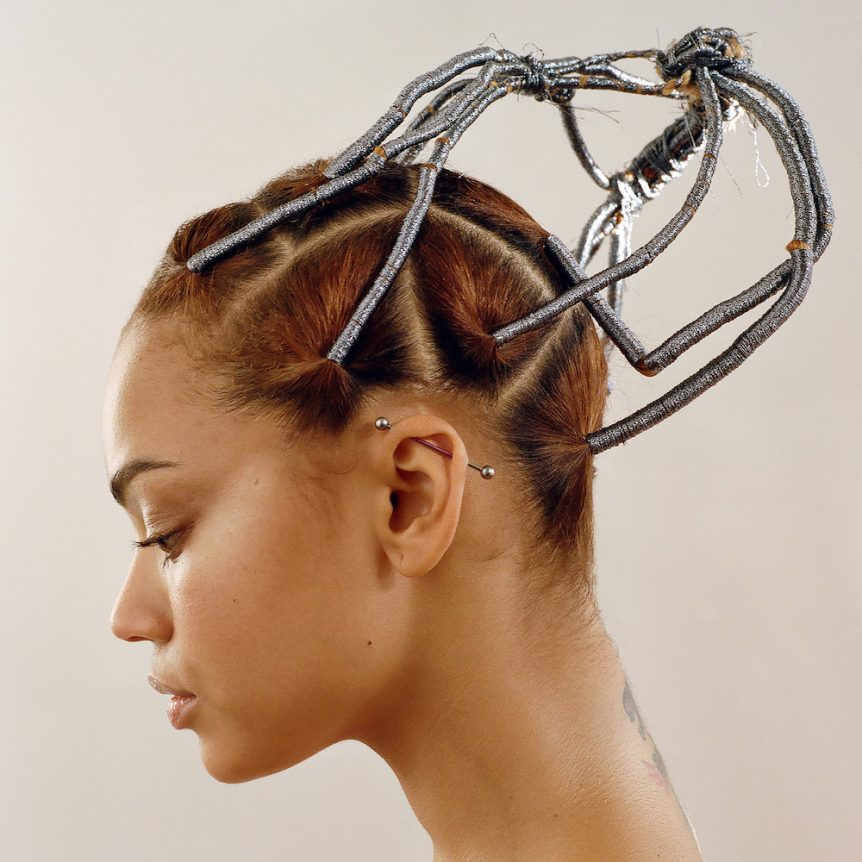 Charlotte Mensah hair threading