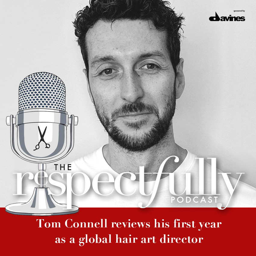 EP57 - Tom Connell reviews his first year as a global hair art director