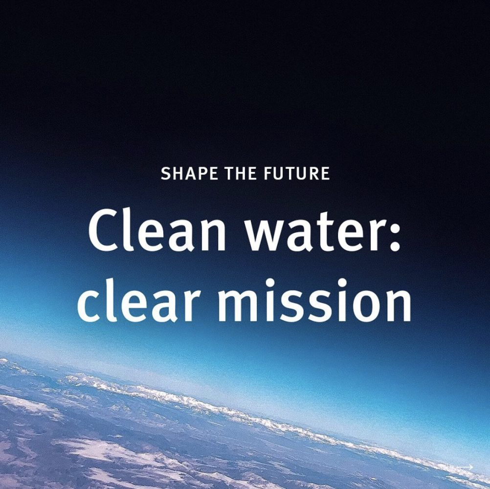 clean water, clear mission