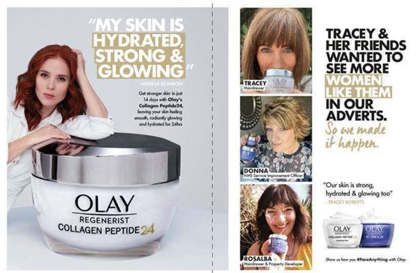 Olay Tracey ROberts